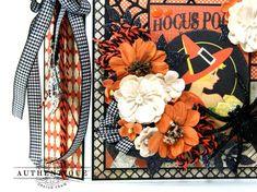 Hocus Pocus Halloween Mini Album with Nightfall Vintage Photo Album, Vintage Photos, Vintage Halloween, Halloween Crafts, Halloween Mini Albums, Pocket Scrapbooking, Hocus Pocus, Altered Art, Card Making