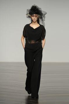 #JohnRocha #AW13 #catwalk #readytowear #LFW #london #fashion #style #black #SooJoo