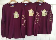 Items similar to Sorority Home Shirt Custom STATE with HEART over College Town and Sorority with on Sleeve Long Sleeve Shirt on Etsy Kappa Delta Chi, Alpha Phi Omega, Phi Sigma Sigma, Gamma Phi Beta, Kappa Alpha Theta, Alpha Chi, Tri Delta, Phi Mu, Chi Omega