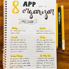 Bullet Journal School, Study Apps, Study Organization, Study Methods, School Study Tips, Study Planner, Lettering Tutorial, Study Hard, School Notes