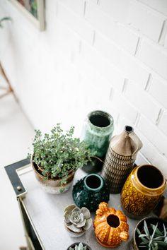 Vintage vases. Moovi studio visit moovi, on Herz und Blut.