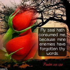 Psalm 119:139 KJV