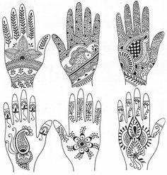 Dessin Pour Henné les 889 meilleures images du tableau henné sur pinterest | henna
