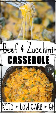 A Keto Ground Beef Zucchini Casserole That S Quick And Easy And Takes Less In 2020 Beef Zucchini Casserole Vegetarian Recipes Dinner Healthy Easy Clean Eating Recipes