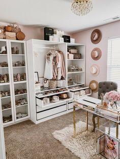 Bedroom Closet Design, Closet Designs, Bedroom Decor, Wardrobe Room, Closet Remodel, Glam Room, Home Office Decor, Home Decor, My New Room