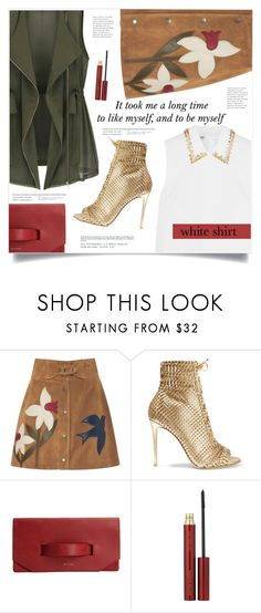 """""""Me"""" by marina-volaric ❤ liked on Polyvore featuring RED Valentino, Gianvito Rossi, Kevyn Aucoin and Miu Miu"""