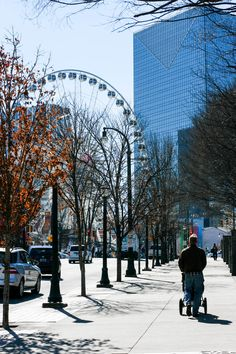 A walk through Atlanta's Centennial Olympic Park and a morning at the Children's Museum!