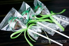 Thin Mint Cake Pop Truffles for St. Patty's Day!