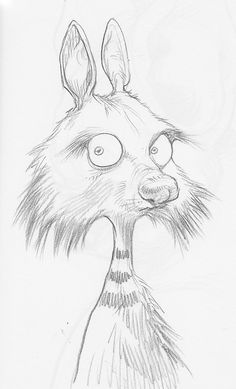 Cyril. Drawing Animals, Animal Drawings, Book Illustrations, Children's Book Illustration, Chris Riddell, Paul Stewart, Weird Drawings, Quentin Blake, Art For Art Sake