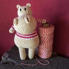 ladies and gentlemen... Hipo! a @mongoreto pattern handmade by me ❤️