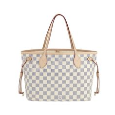 #LouisVuitton #Handbags Louis Vuitton Neverfull MM White Totes Fashion Designers|Fashion Bags|louis vuitton handbags