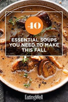 Crockpot Recipes, Soup Recipes, Cooking Recipes, Healthy Soup, Healthy Recipes, Bean And Vegetable Soup, Roasted Butternut Squash Soup, Chili Soup, Winter Soups