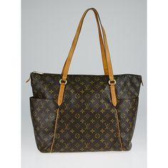 Pre-owned Louis Vuitton Monogram Canvas Totally GM Bag (7,565 HKD) ❤ liked on Polyvore featuring bags, handbags, tote bags, louis vuitton purses, monogram canvas tote, canvas totes, monogram tote and monogrammed diaper bags