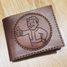 Leather wallet!