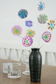 papierblumen by herz-allerliebst