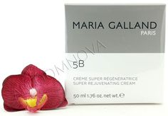 Maria Galland Super Rejuvenating Cream 5B 50ml - Extremely rich skin care cream to naturally regenerate the skin overnight! #MariaGalland #skincare #nightcare #antiaging