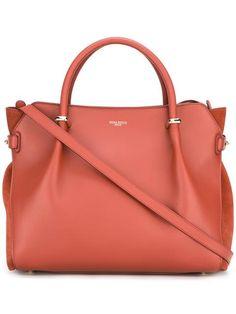 NINA RICCI Logo Stamp Tote. #ninaricci #bags #leather #hand bags #tote #