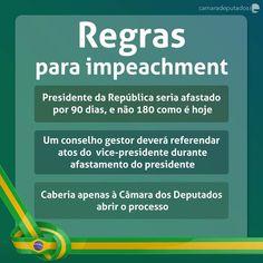 Novidade da timeline nesta manhã:  a Câmara analisa novas regras para o processo de impeachment de presidente da República. A proposta foi apresentada pelo deputado Rogério Rosso que presidiu a comissão especial do impeachment de Dilma Rousseff.  O que acham? #impeachment #camaradosdeputados #foratemer #foradilma #governabilidade #politica #brasil #quepaíséesse #agentenaoquersocomida #avidaquer @avidaquer por @samegui avidaquer.com.br http://ift.tt/2mIM0Om