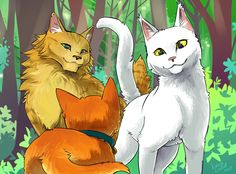 Warriors: Into The Wild by NiaNook33.deviantart.com on @DeviantArt