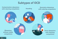 OCD is characterized by obsessions and compulsions, but the symptoms vary from person to person. Learn more about the subtypes of OCD. Anxiety is a cruel and debilitating illness