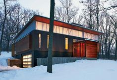 1000 images about houses renovated into contemporary for Contemporary home builders wisconsin