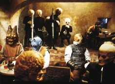 The cantina at Mos Eisley spaceport separates Luke Skywalker's mundane life as a farm boy on the desert planet of Tatooine and the rest of the fantastic ' Star Wars' galaxy. Description from nydailynews.com. I searched for this on bing.com/images