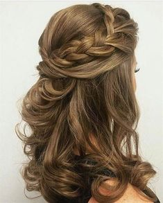 26 Stunning Half Up Half Down Hairstyles Stayglam Hairstyles