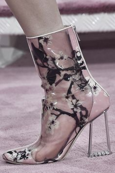 Christian Dior Haute Couture, Spring/Summer 2015 shoe detail.