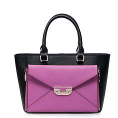Modna torebka top do ręki Czarna stylowa
