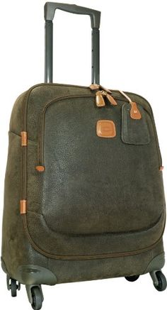 Brics Luggage Life 21 Inch Carry On Spinner Olive One Size *** Find out more about the great product at the image link.