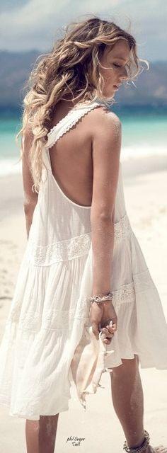 T back Dress....