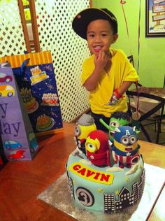 The Avengers Cake by emilylek Party themes and ideas