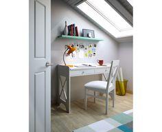 Dormitorio Juvenil Modelo Rústico Básico 4