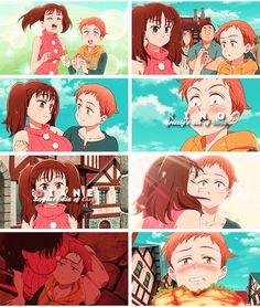 Nanatsu no Taizai The Seven Deadly Sins anime and manga ~ King x Diane