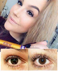 Her er noen av kundene våre som har brukt iGlow Lash Maximizer 💞 Serum, Lashes, Make Up, Cherry, Hair, Beauty, Halloween, Anime, Eyelashes