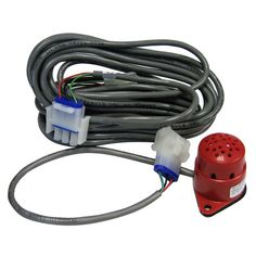 Fireboy Xintex MS-2 Gasoline & Propane Sensor  Color-coded RED with a quick-disconnect 12-inch lead that connects to a standard 20-foot sensor cable for use with M-1, MB-1, M-2A, S-1, S-1A and S-2A fume detectors.