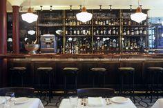 dark oak bar
