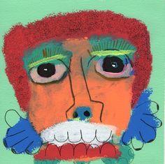Rafael F. Gutierrez Jr.'s work at French & Michigan Gallery's exhibition 50 Artists / 250 Works.