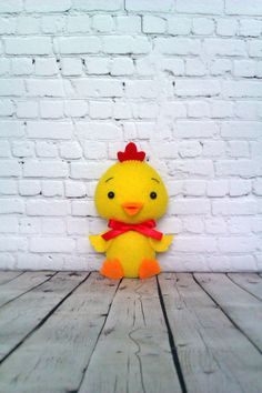 Easter Decorations Chick Felt Ornaments Cute Chicken Yellow Bird Easter Basket Handmade Gift For Baby Spring Decor Holiday Soft Toy Kawaii by BelkaUA on Etsy