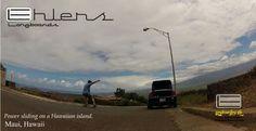 Longboarding in Maui. #ehlerslongboards #ehlers #longboarding #longboard #sliding