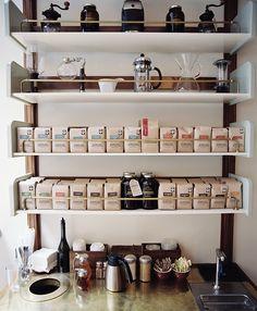 Stumptown Coffee | Joan Cuenco Gooseneck brackets