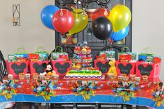 Mickey Mouse Clubhouse Birthday Party Favors
