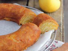 Découvrez la recette Couronne aux pommes invisible sur cuisineactuelle.fr.