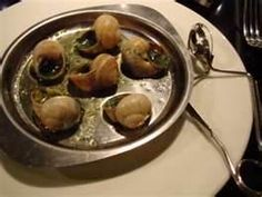 Common food: Snails