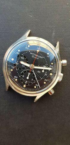 Wittnauer 242 t chronograph vintage speedmaster valjoux 72 Chronograph, Omega Watch, Ebay, Accessories, Vintage, Vintage Comics, Jewelry Accessories