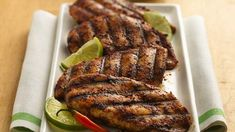 Lime and Chili Rubbed Chicken Breast - A robust rub turns ordinary chicken into extraordinary grilled chicken. Grilling Recipes, Cooking Recipes, Healthy Recipes, Free Recipes, Yummy Recipes, Cooking Blogs, Grilling Ideas, Mexican Recipes, Drink Recipes