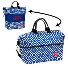 Chicago Cubs Tote Bag Expandable Diamond Carrier