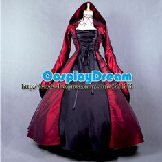 Custom made Elegant ROCOCO Punk gothic victorian style gown prom dresses ball lolita long dress evening dress Gothic costume