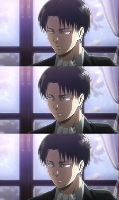 This part got me. Levi's reaction to the whole thing made me so sad, he really does care so much.