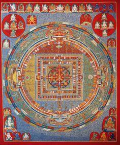 Tibetan Mandala Thangka